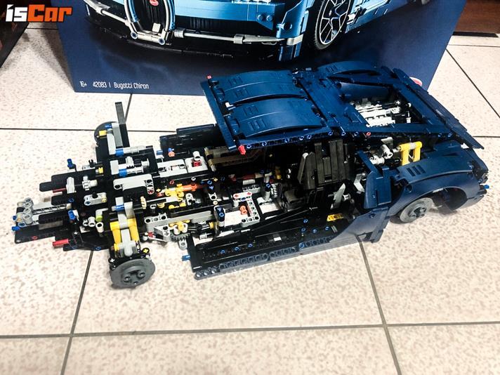 LEGO Bugatti Chiron 1:8成品現身 7月高雄首賣