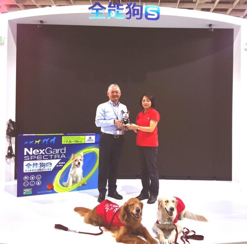 台灣百靈佳殷格翰用行動支持給予導盲犬友善環境