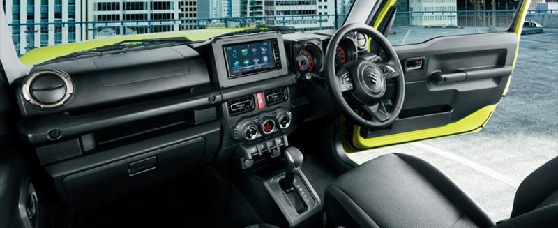 越野小尖兵Suzuki Jimny日本正式上市