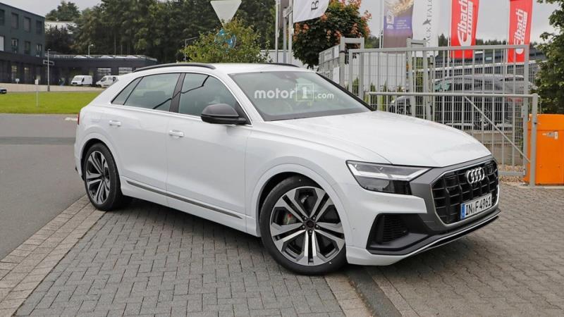 Audi SQ8路試捕獲 最快10月巴黎車展亮相