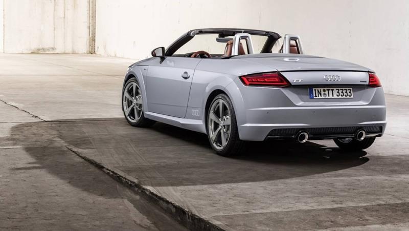 小改款Audi TT亮相 20周年紀念車同步登場