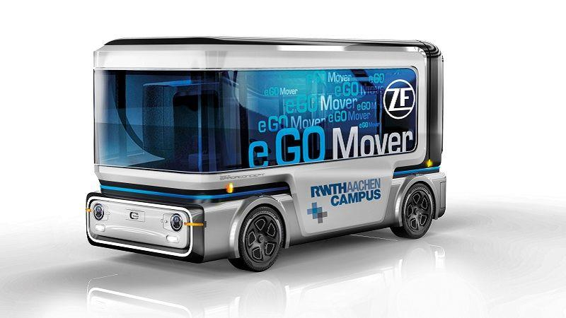 e.GO與ZF聯手推出無人輕型小巴e.GO Mover 預計2020年投放至試驗區