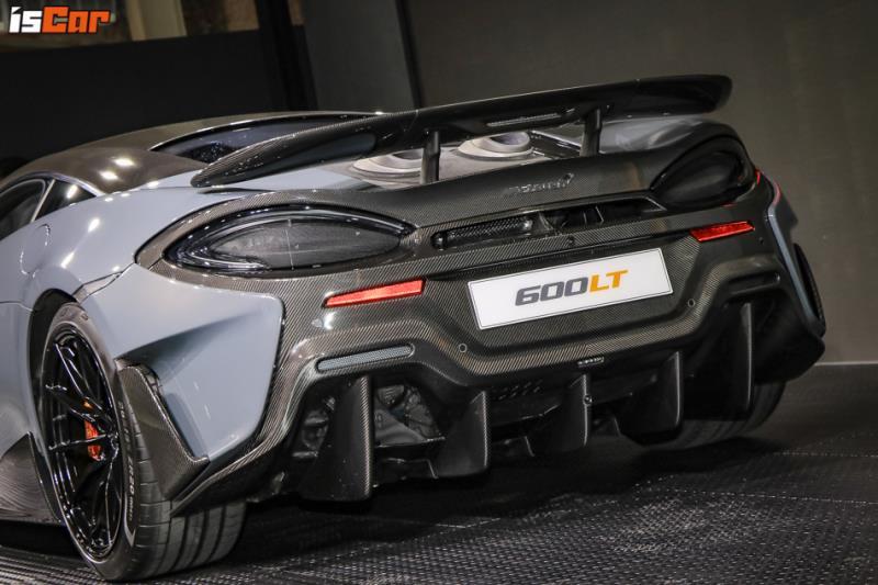 Longtail道路版賽車 McLaren 600LT登台
