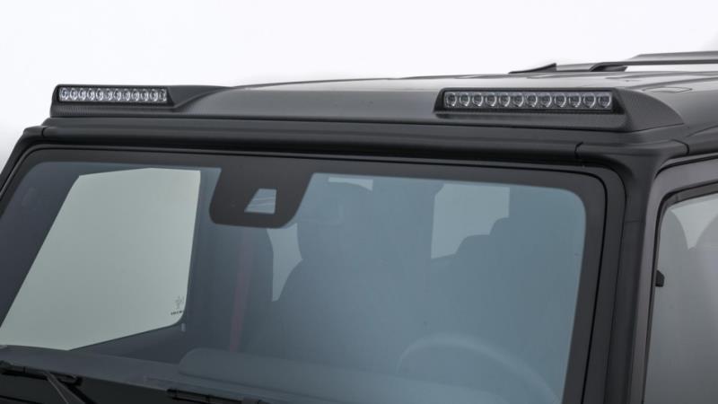 硬漢本色 Brabus Mercedes G-Class 碳纖維和23吋大腳上身