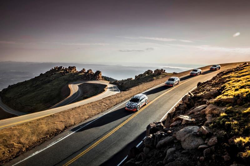 Audi e-tron prototype高效電能回充系統釋出 九月亮相