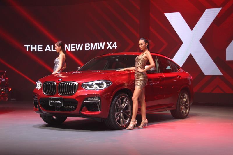 汎德今日發表全新的X4,其中頂級的M40i售價為新台幣368萬元。