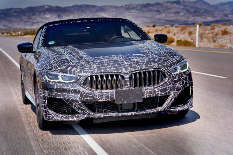 BMW G14 8-Series Convertible即將登場!