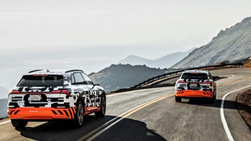 Audi e-Tron 宣告將在 9 月 17 日於美國舊金山正式發表