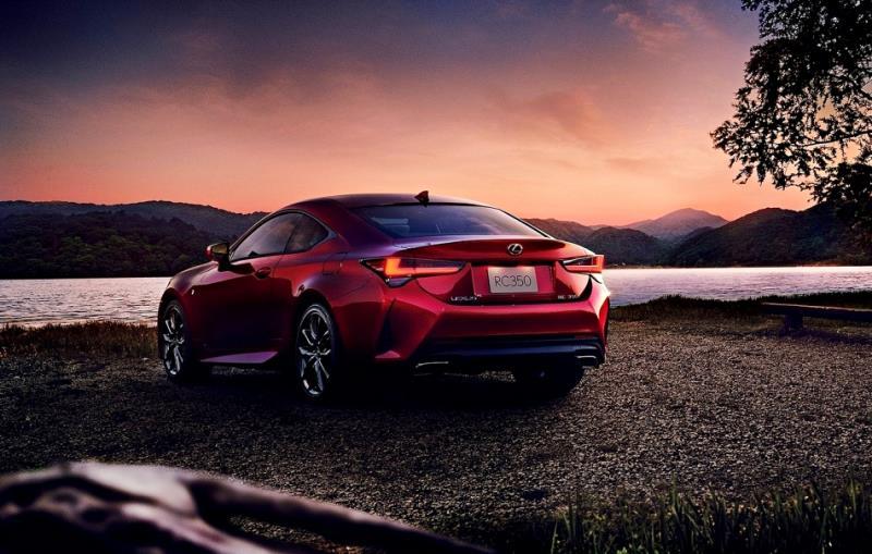 Lexus RC 小改款定裝照正式露面
