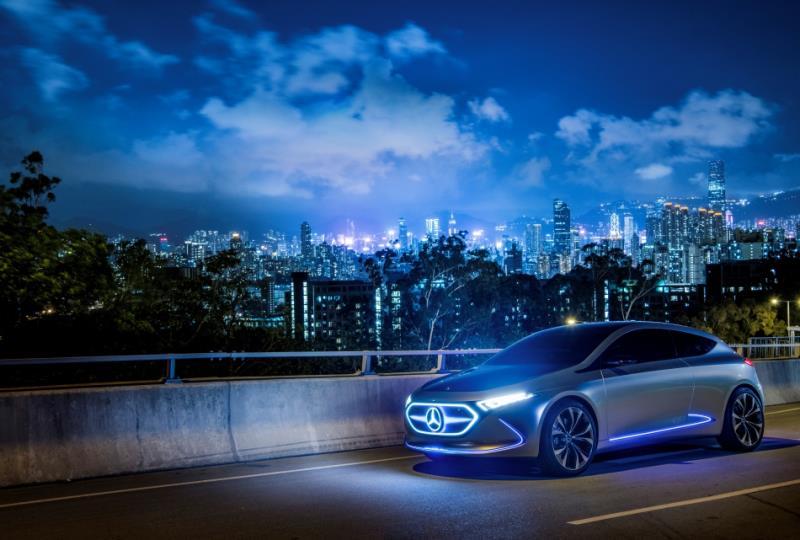 Mercedes-Benz未來共有9款電動車於2022年前問世