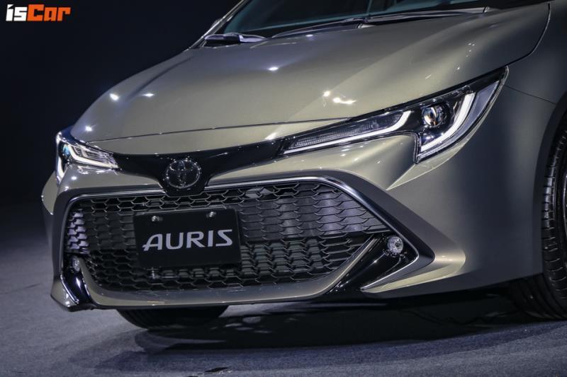 Toyota Auris首波雙車型83.9萬元起