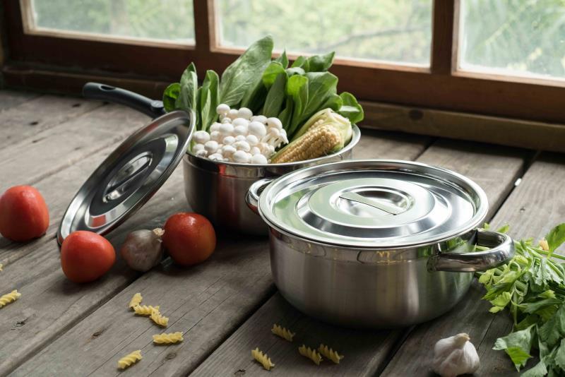 多功能調理雙鍋組壹組。