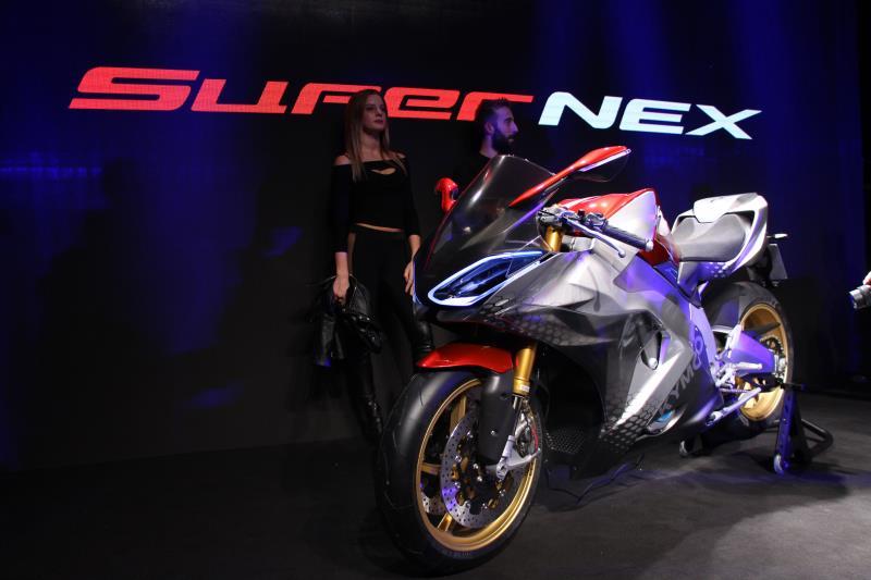 SUPERNEX採用全電動輸出,0-100公里加速僅需要2.9秒。