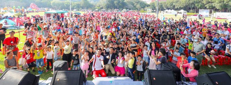 超過3000的Honda Family齊聚首,一同親子同歡趣。