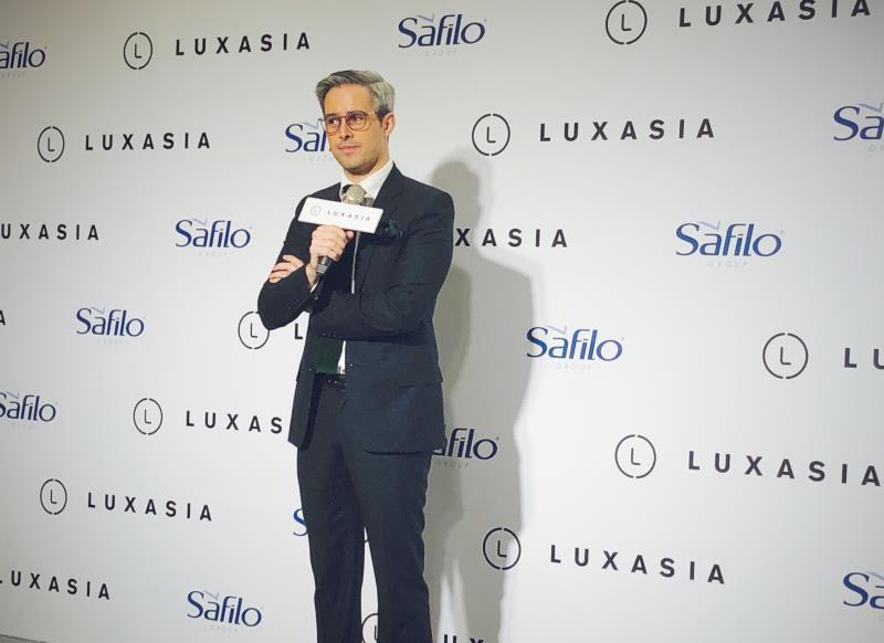 Safilo 品牌副總監Vincent Cleme 。