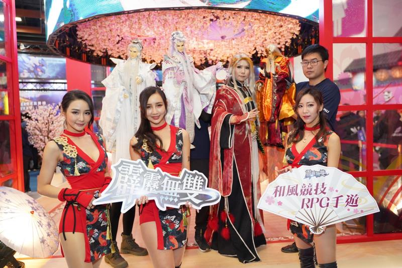 2019台北國際電玩展《霹靂無雙》玩家見面會熱鬧登場!