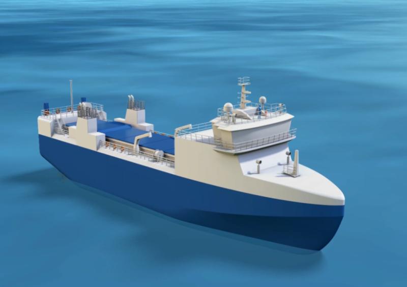 所有運輸計畫都必須經過層層審核監督才會進行,連運輸船是特別打造的