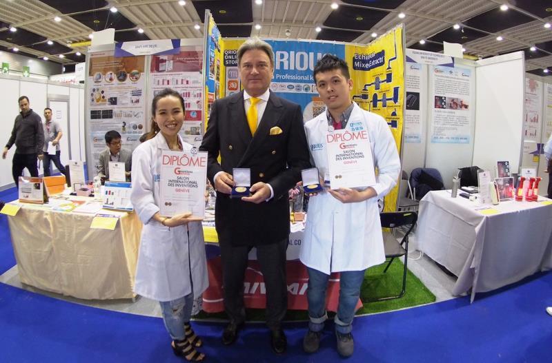 台灣團隊QRIOUS獲得日內瓦發明獎最高殊榮「超級大獎」