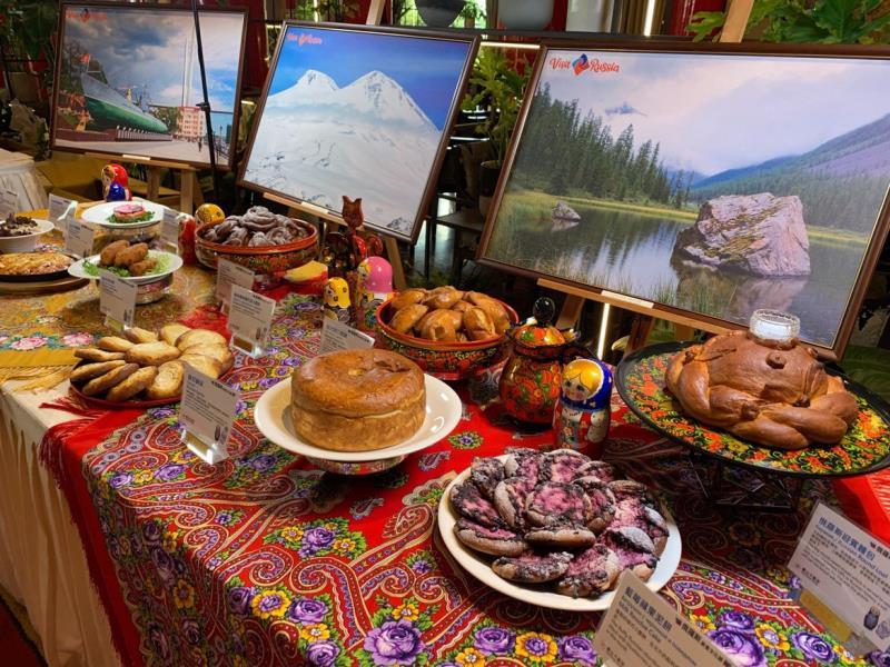 4/19至4/28期間,來圓山享美食,有機會抽到台北至莫斯科機票。