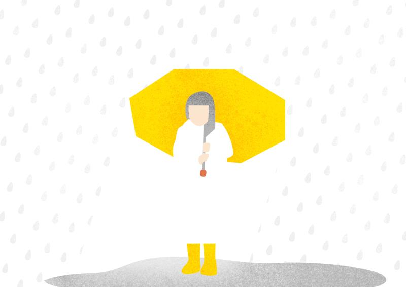 TOP 5下雨天獨自撐傘回家 畫面太孤獨不忍看