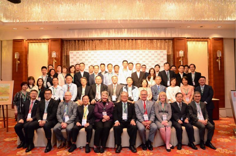 美國黃豆出口協會造訪台灣,針對台美農產品進行交流。