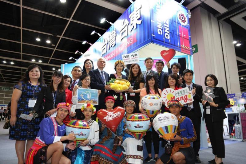 香港國際旅展臺東館首推「360度玩美台東」
