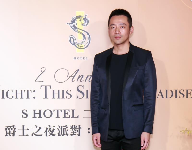 S HOTEL董事長汪小菲6月13日主持「二週年慶爵士之夜派對 : 塵世樂園」派對。
