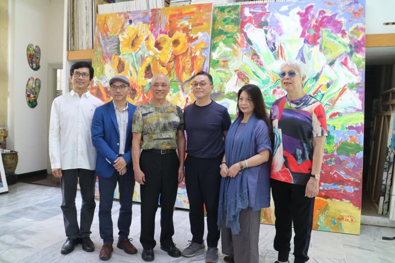 台灣畫家洪政東獲邀 大陸美術館巡迴展