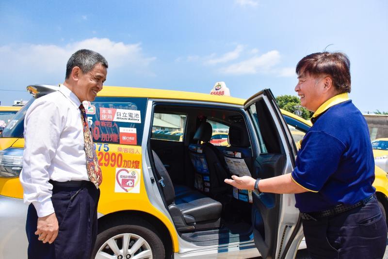 台灣大車隊以滿足「行」的核心服務為基礎,協助形塑親老化的台灣交通生態環境。
