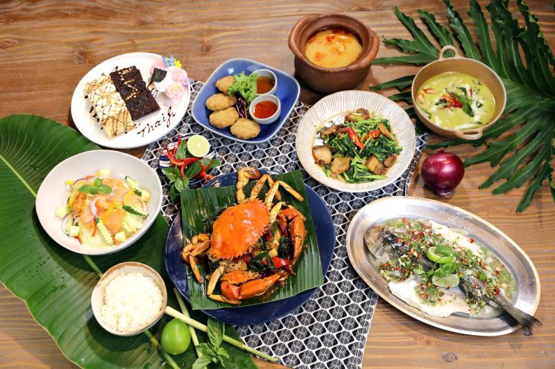 Thaï J花園泰式料理攜手法式皇室甜點霸氣上菜