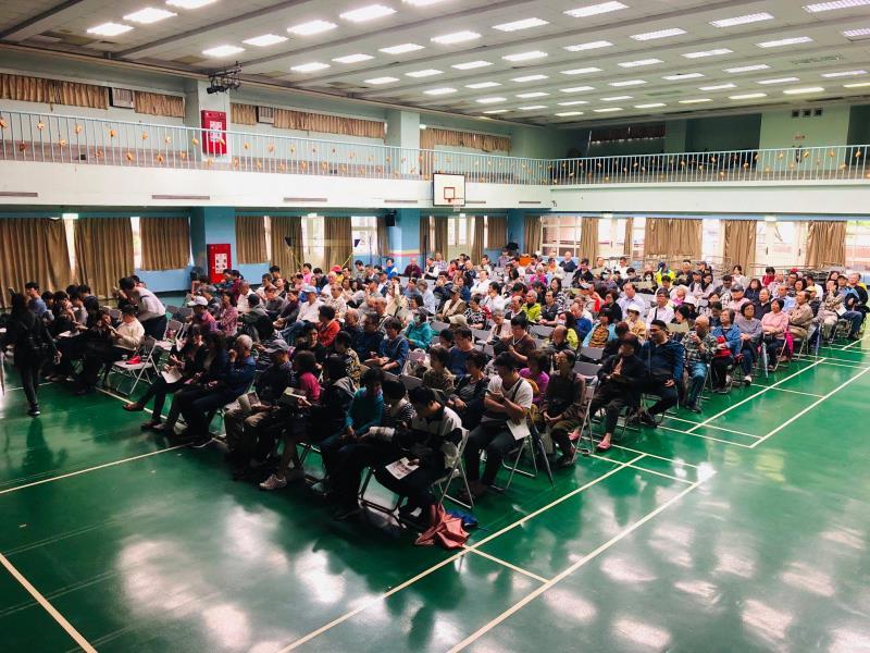 臺灣金融都更中心經常舉辦法宣說明會,總是吸引大批對都更相當關切的民眾參與。