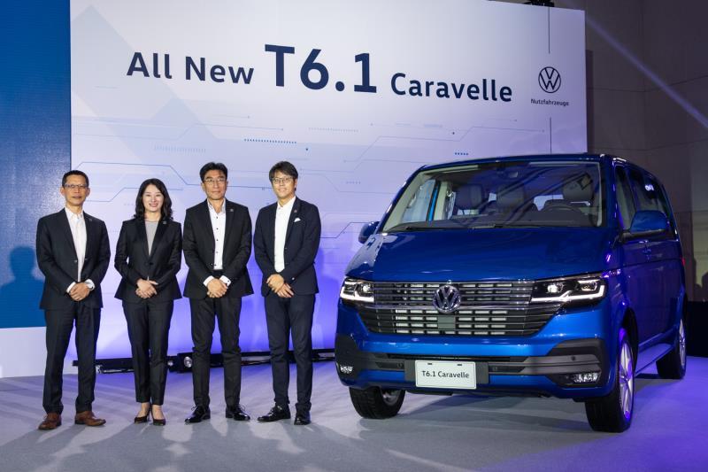 福斯商旅全新T6.1 智能上市