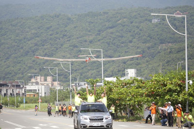 科技部綠能無人機大獎賽 虎尾科大團隊順利飛越龜山島