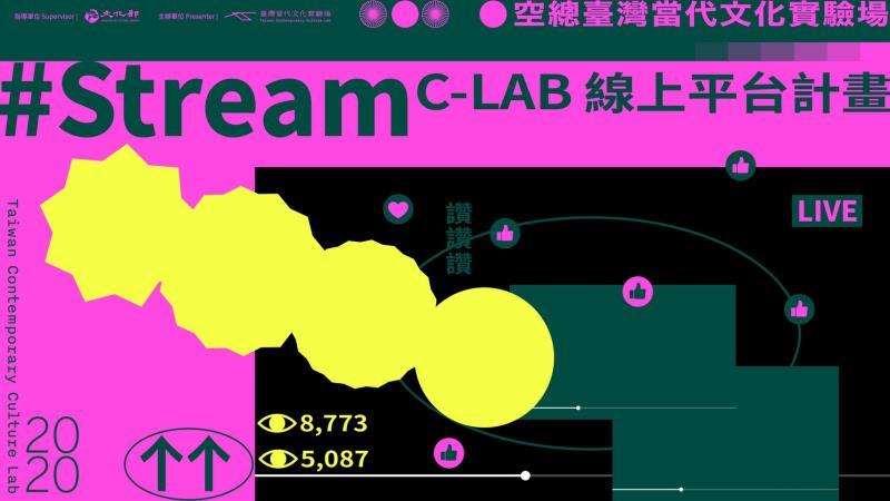 藝術展演直播 # Stream C-LAB線上平台計畫9月登場