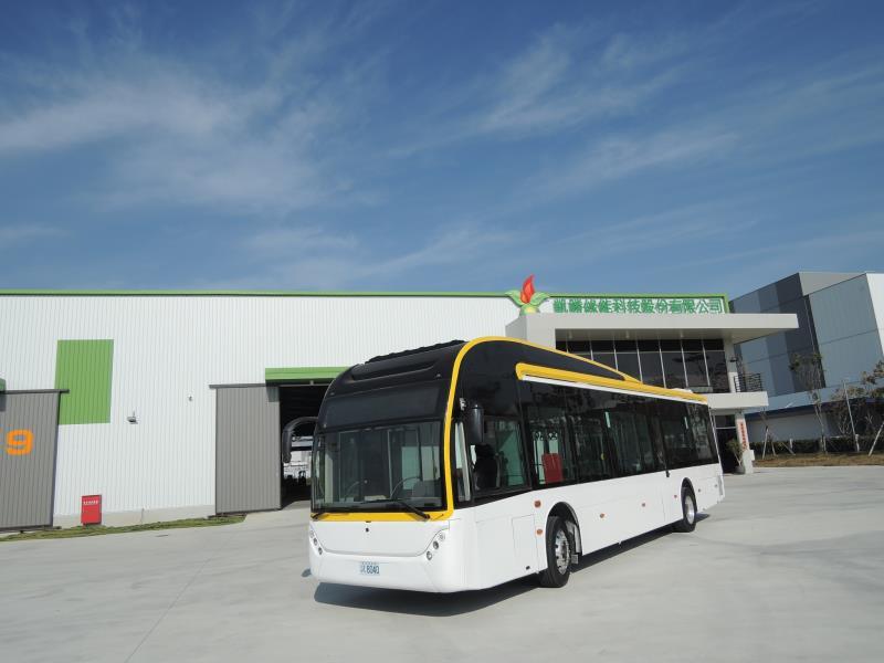 凱勝綠能攜手台南市政府攜與府城客運 再創綠能運輸新里程碑
