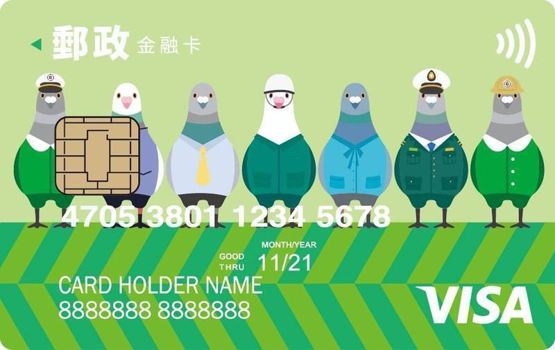 郵局VISA金融卡結合悠遊卡 24日便利上路
