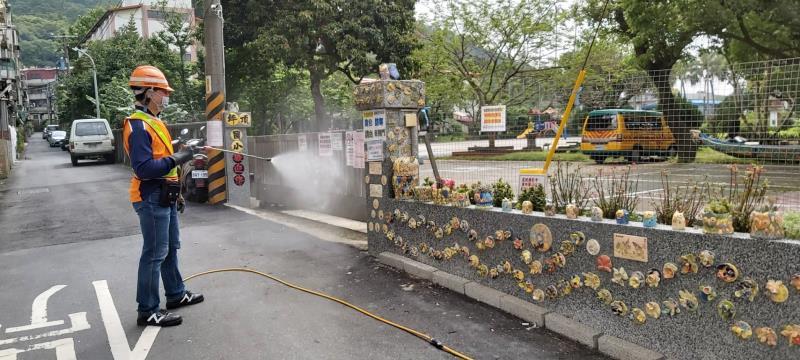 春節防疫全力備戰 新北環保局啟動消毒逾1,360處。