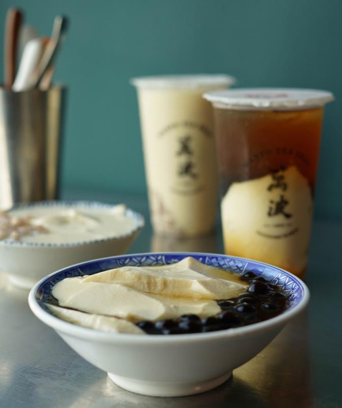 「市場豆花」系列產品傳遞歡聚的溫暖氣息。