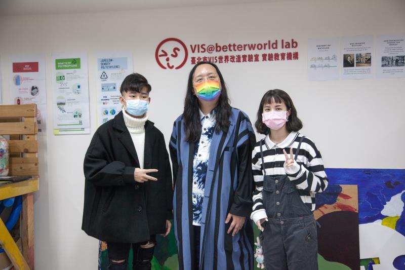 VIS國際實驗高中邀請數位政委唐鳳 face to face