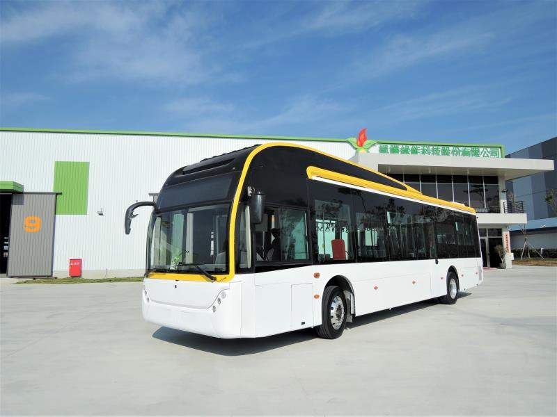 凱勝綠能再下一城  新營客運採購7台電動大巴
