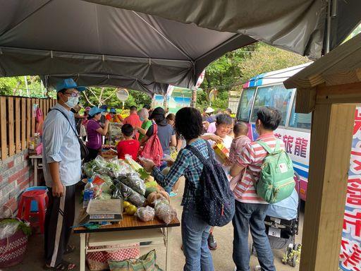淡水樹興社區農夫市集。