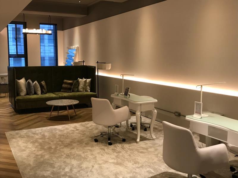 第一化妝品場的旗店門市曉延平,也是該公司教育訓練的主要場域,未來將逐步開放課程供有興趣的消費大眾參與。
