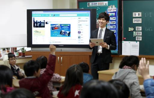 教學社群平台Classting促動主動學習。