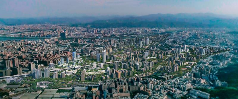 塭仔圳市地重劃於規劃階段納入零碳設計思維,包括創能、儲能及節。