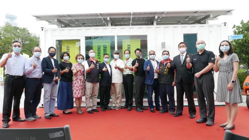 台灣碳交易打造驛日光屋 高雄科工館展出