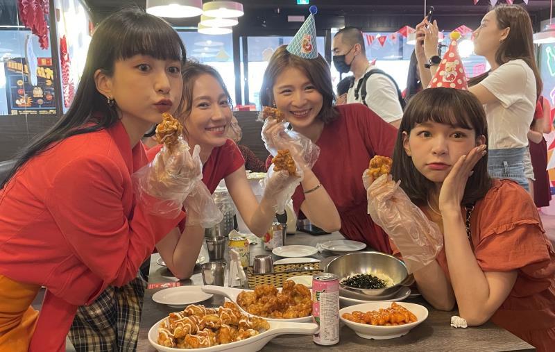正韓式「起家雞」登台五周年
