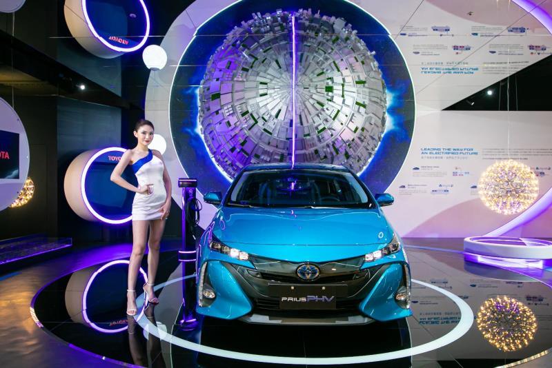 TOYOTA領先推動汽車電動化,旗下電動化車款布局齊備,積極協助台灣早日達成「碳中和」的目標