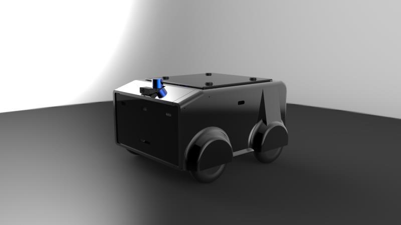 自駕送餐機器人