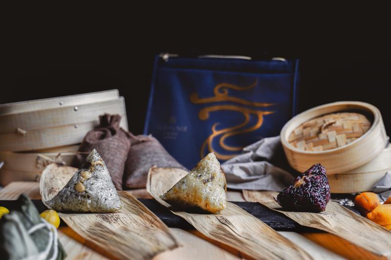 美味「袋」著走 新竹老爺粽子禮盒開賣