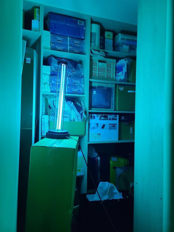 防疫用品熱銷 486團購表示兩天內家用型紫外線殺菌燈管熱銷破千支。